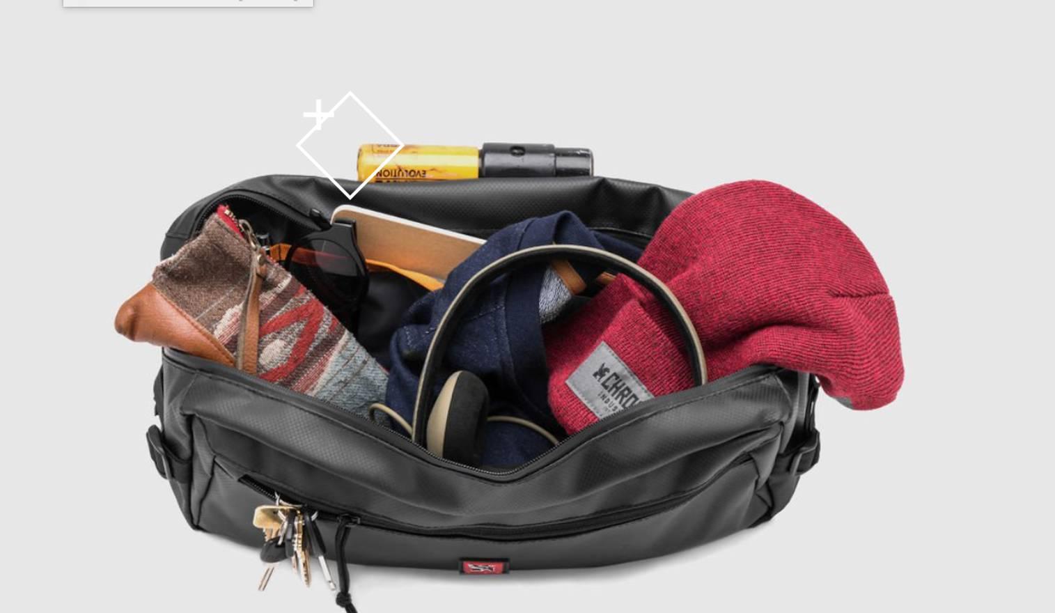 Chrome Industries Kadet Tarp Messenger Bag Size One 1