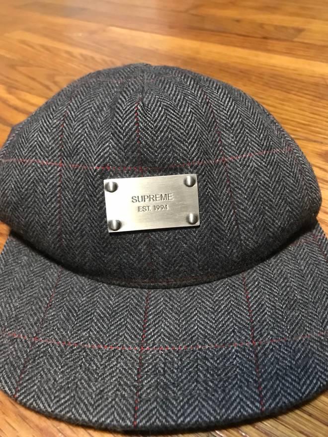 ace726da ... promo code supreme rare supreme wool metal plate hat size one size  c84e4 8f69f
