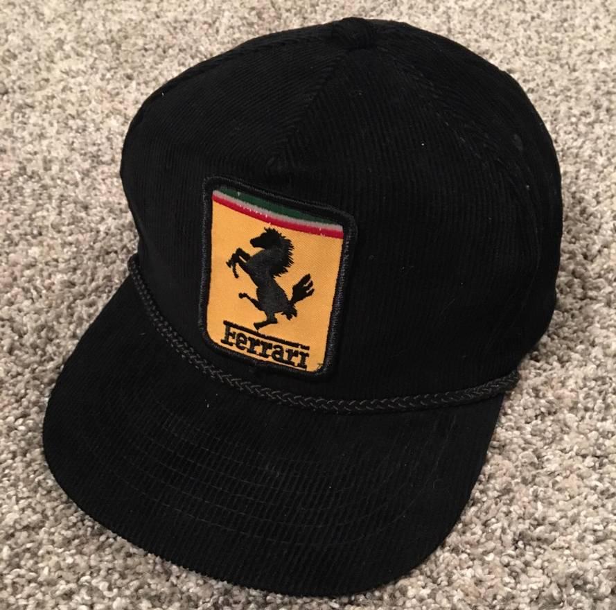 hat flat scuderia brim ferrari black collections snapback sf products