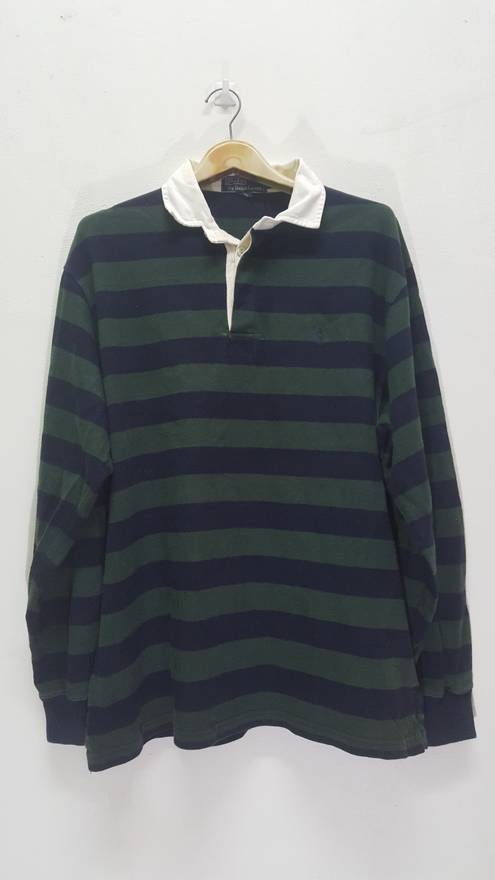84ab91395 ... where to buy polo ralph lauren vintage polo ralph lauren small pony  stripes longsleeves rugby shirt