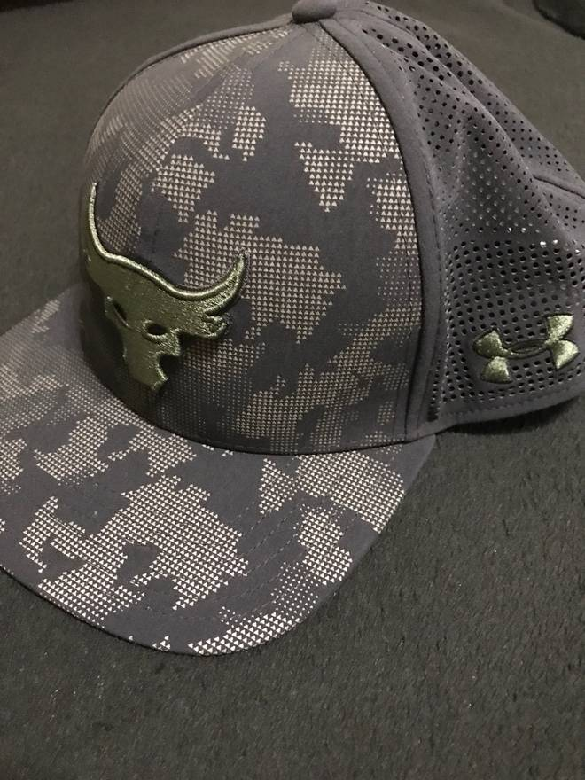 fbf757738 get under armour the rock hat 456fa 99a88