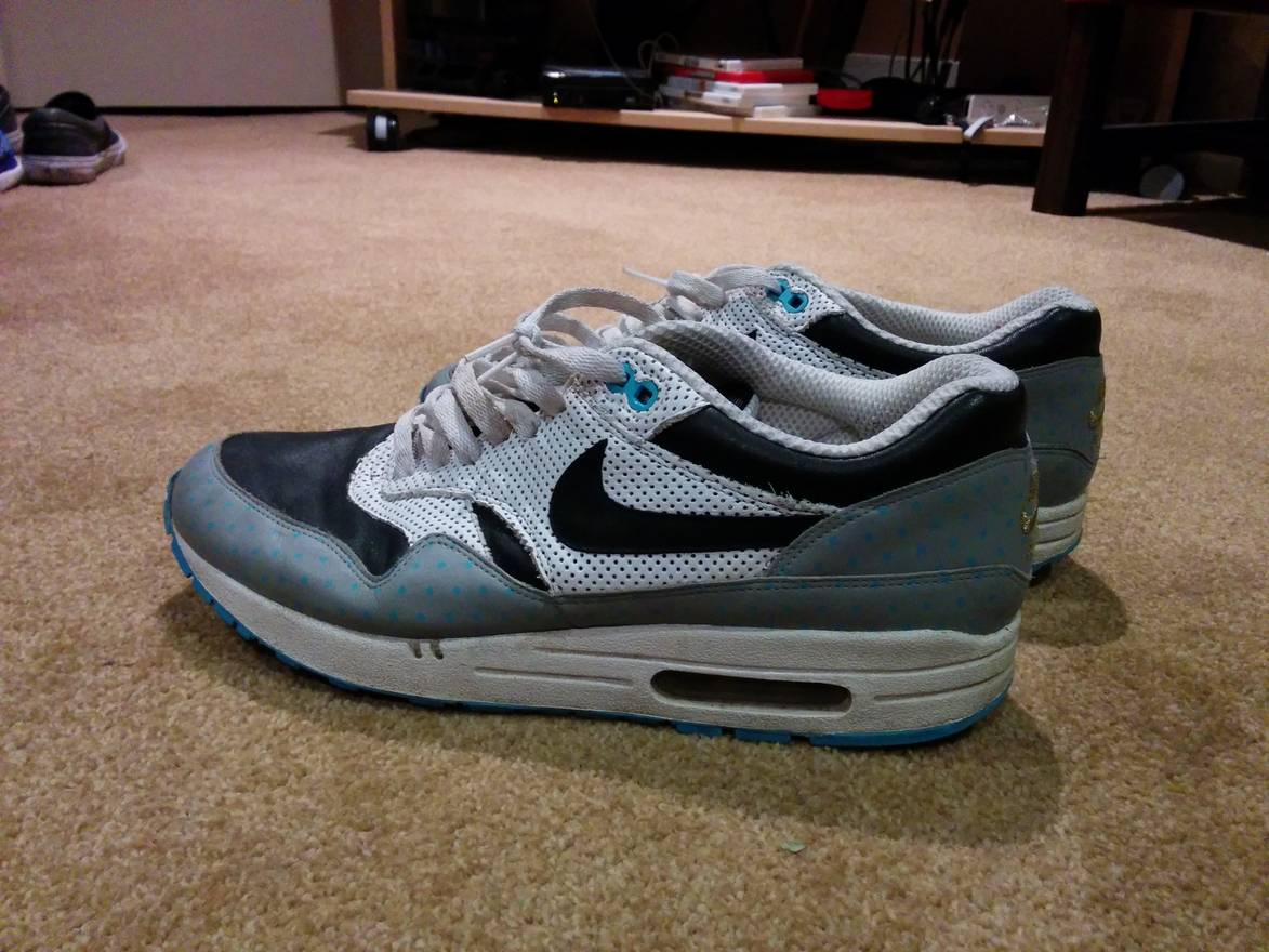 e464e467ab ... 90 white and black and gray 247d1 d2be4; czech nike nike air max 1  premium polka square size us 71b24 19487