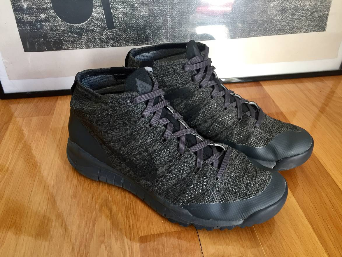 ... sweden nike nikelab acg flyknit trainer chukka sfb with defender  repellent system size us 12 eu de3139a9f