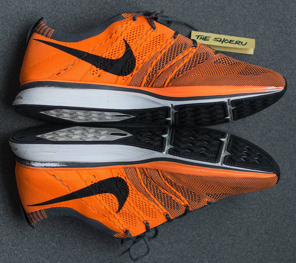 reputable site 8afdc 16fa4 promo code for nike flyknit trainer total orange 532984 880 size us 11.5 eu  44 d0de2