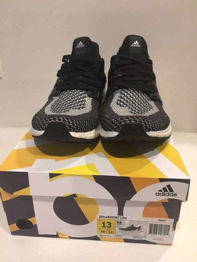 294b395c44a ... reduced adidas ultra boost silver medal ltd size us 13 eu 46 0ac24 3c65e