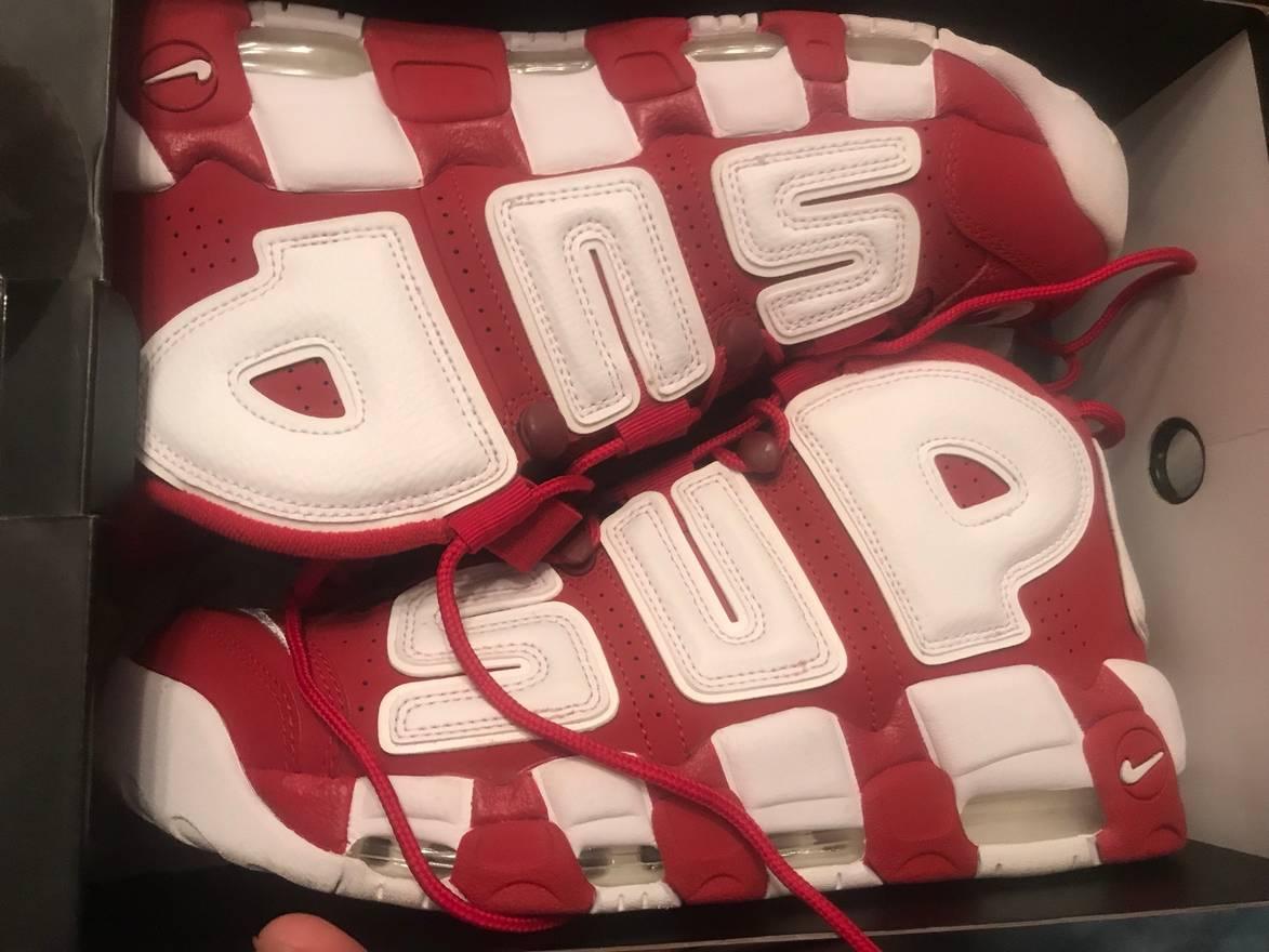 Supreme Supreme Nike Uptempo Size US 10.5 / EU 43-44