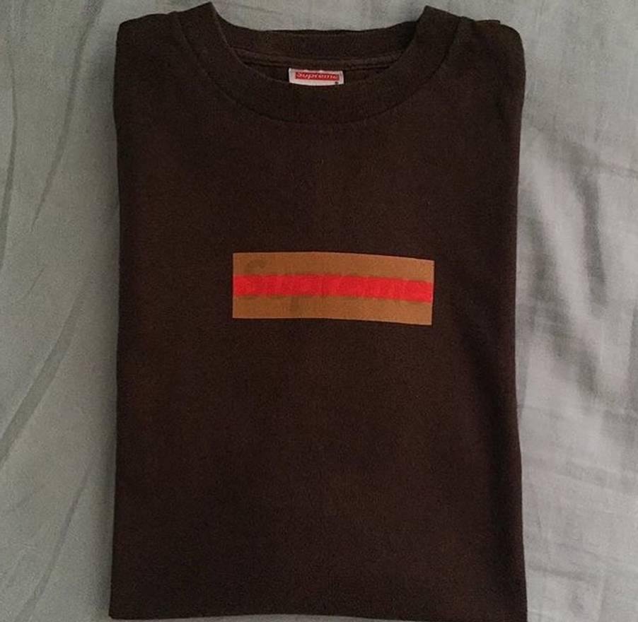 supreme supreme gucci box logo tee size xl short sleeve t shirts