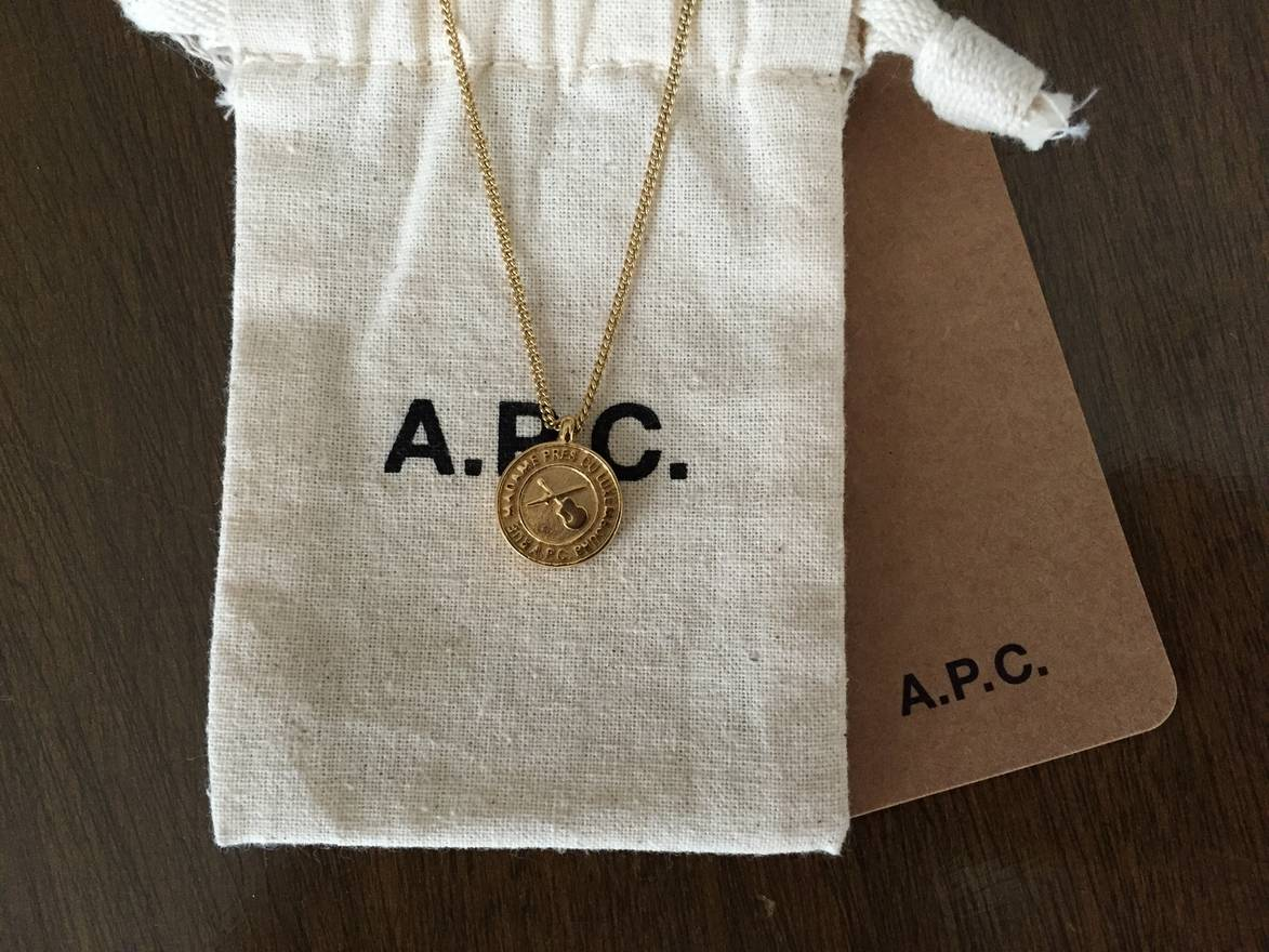 apc gold tr a tone necklace bien c p s mael