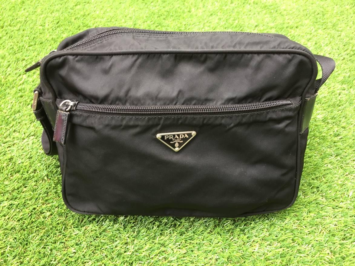 87d239a53b81 ... where to buy prada authentic prada milano nylon crossbody sling bag  size one size 855ad a5f19