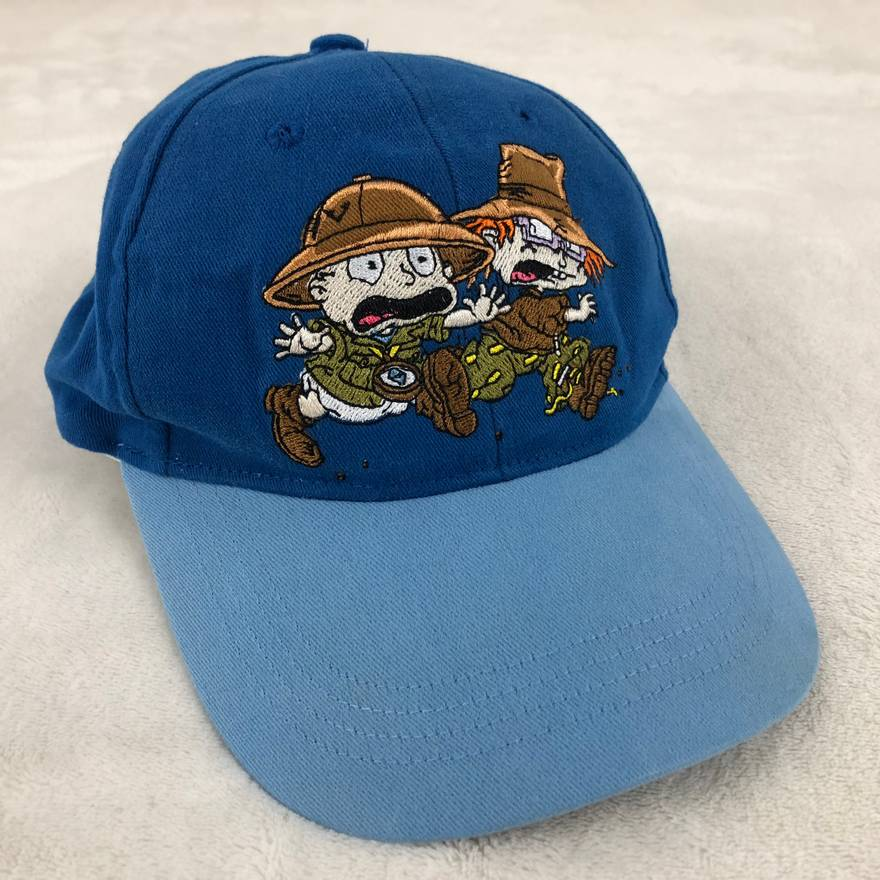 507c93deea0 good nickelodeon doug baseball hat b95f4 98763  closeout vintage vintage  90s 1998 nickelodeon official rugrats movie tommy chuckie hat blue size one  ccd06