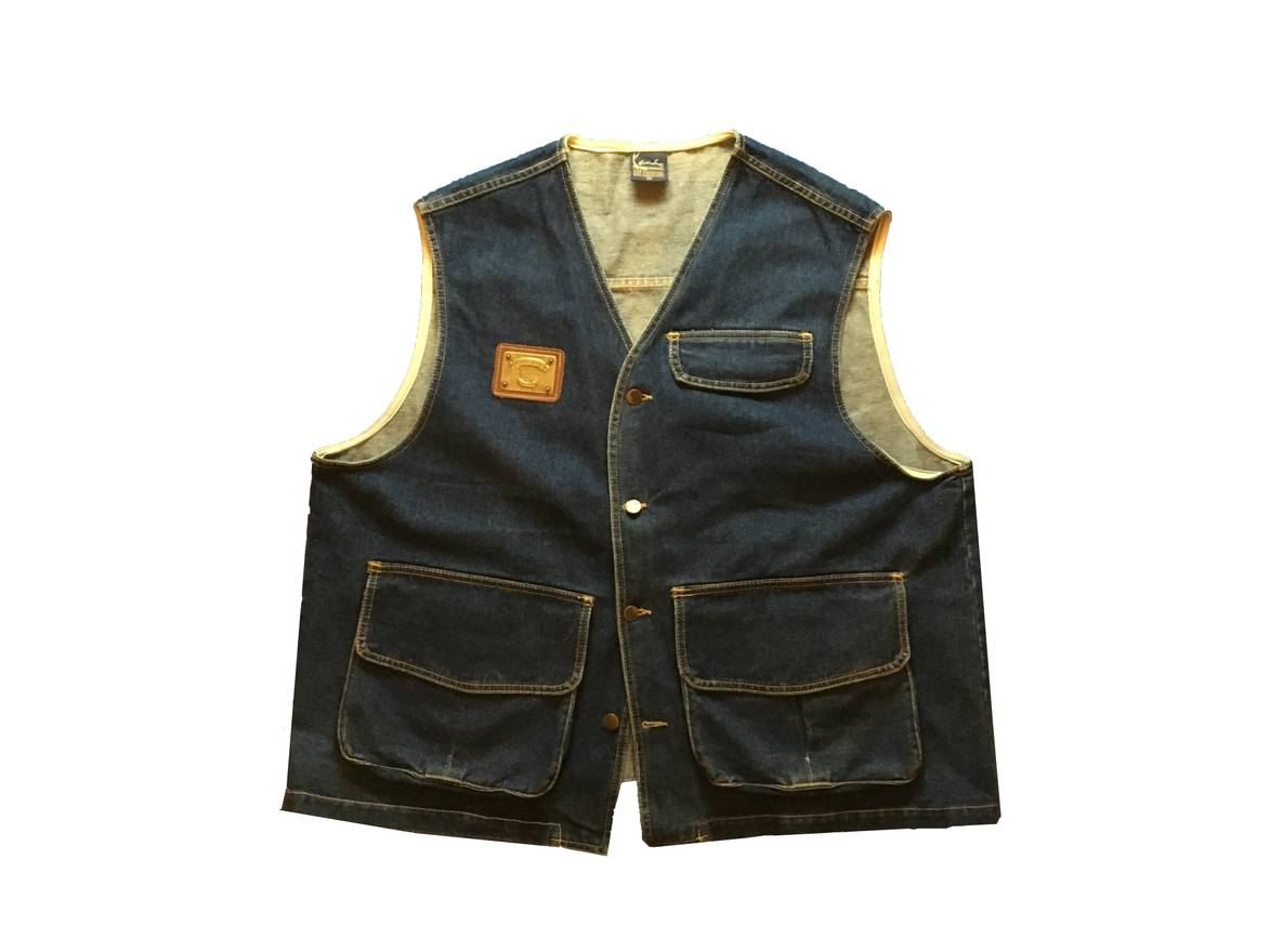 Excellent Karl Kani Vintage 90s Karl Kani Denim Vest Size xl - Vests for  LE33