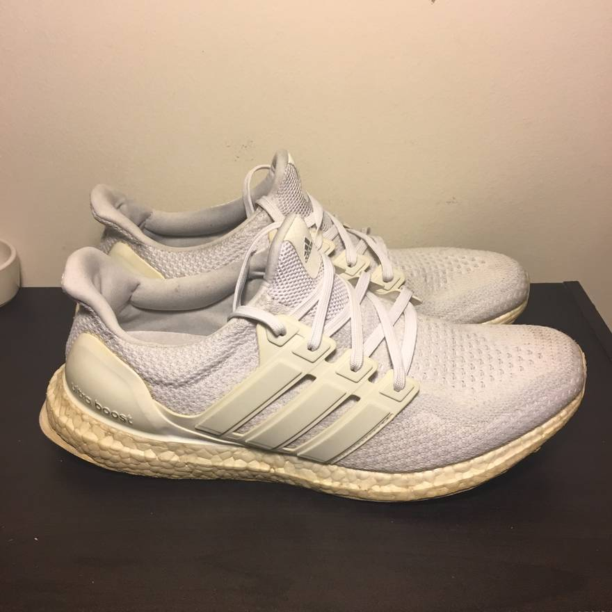 e0098fc3d ... best price adidas adidas ultra boost triple white 2.0 size 11 size us  11 eu 44