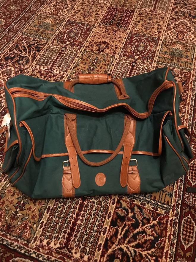 de318b402c ... buy polo ralph lauren vintage polo ralph lauren canvas duffle bag size  one size e480a 6554c