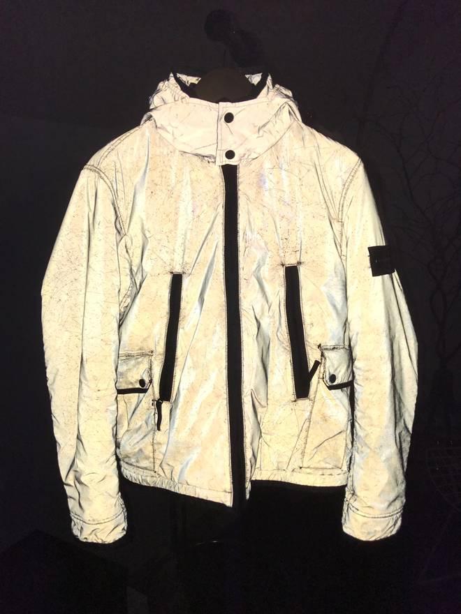 stone island 30th anniversary liquid reflective jacket final price