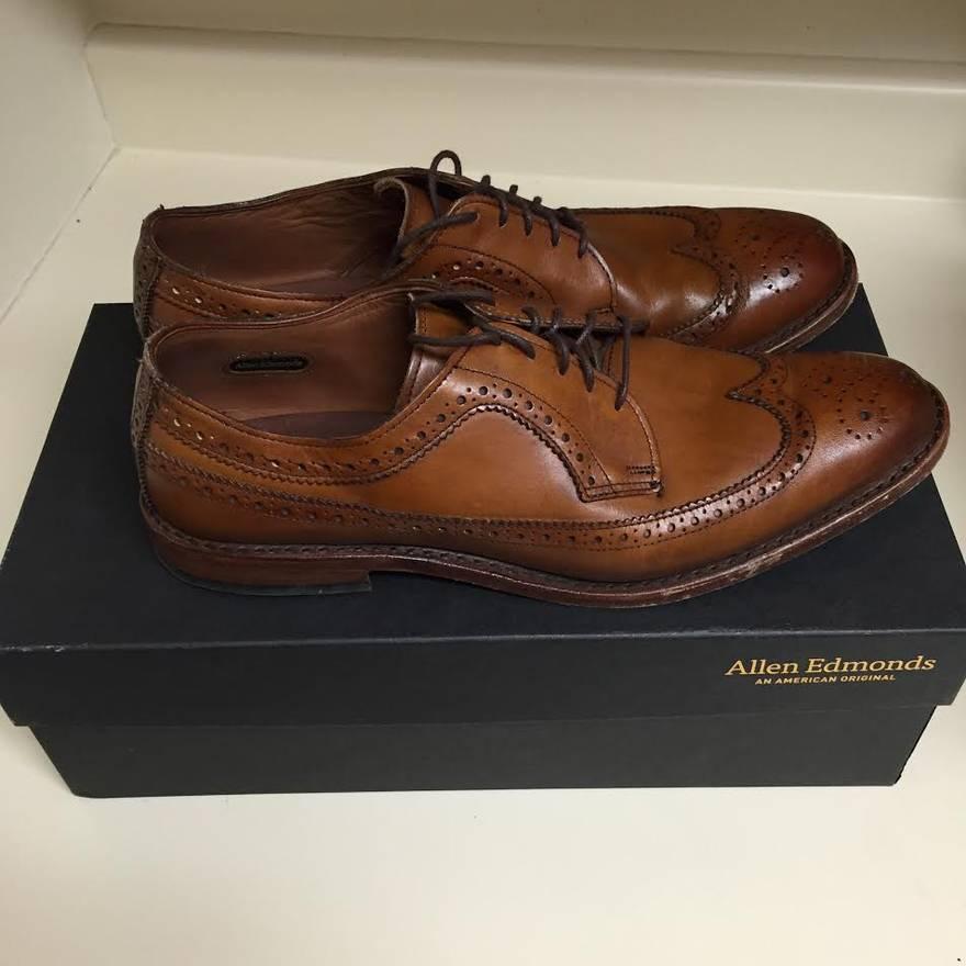 Allen Edmonds McGregor Wingtips fashion shoes clearance  hot sale online