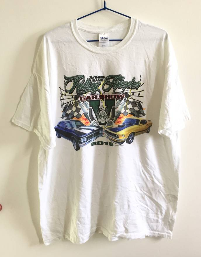 Sports Specialties Rolling Thunder Car Show Shirt Size Xl Short - Car show t shirts for sale