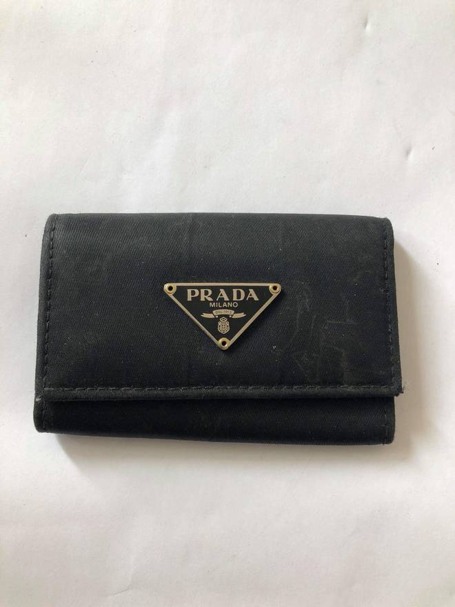 4b932008b98f promo code for prada prada key holder size one size 23cf6 7f364