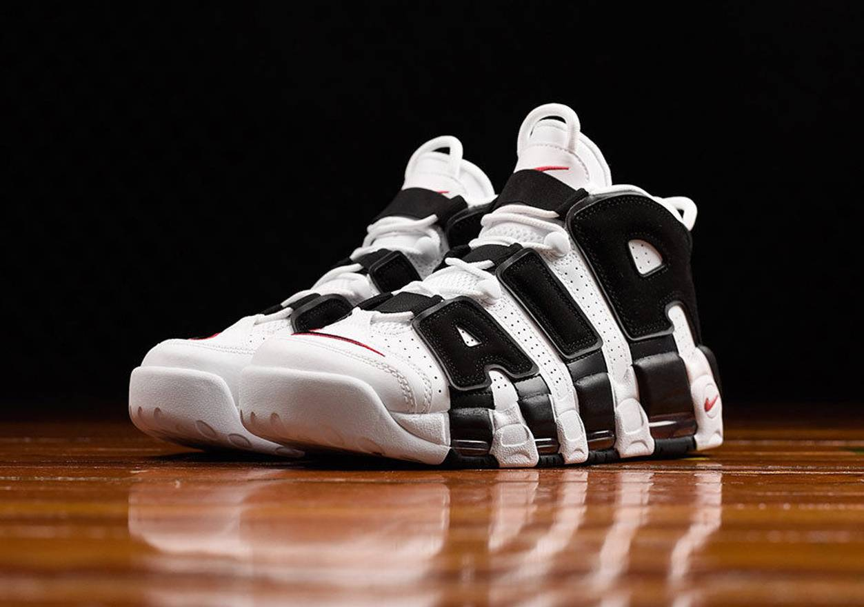 new product 1aee7 6c38f ... coupon code for nike air more uptempo scottie pippen white black size  us 9 eu 42