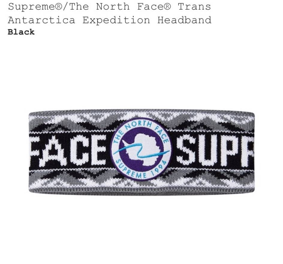 Supreme Supreme X North Face Headband Size One Size Hats For Sale