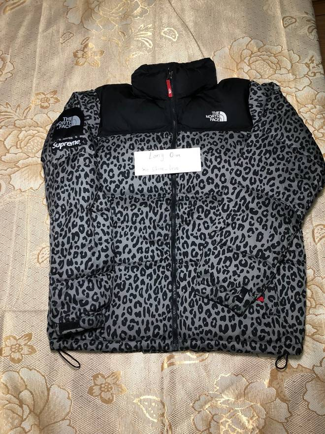e20ca04ee3 ... amazon supreme supreme the north face tnf grey leopard nuptse jacket  size us xl eu 56