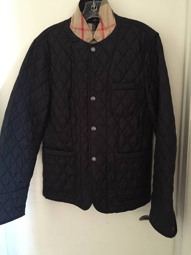 Burberry Quilted Jacket Size S Light Jackets For Sale Grailed