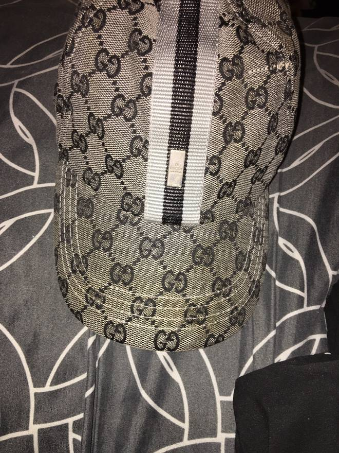 Gucci Vintage 90s Hat Guccissima All Over Print Small Medium Size ONE SIZE