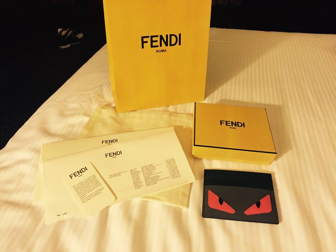 Card Holder Fendi Monster