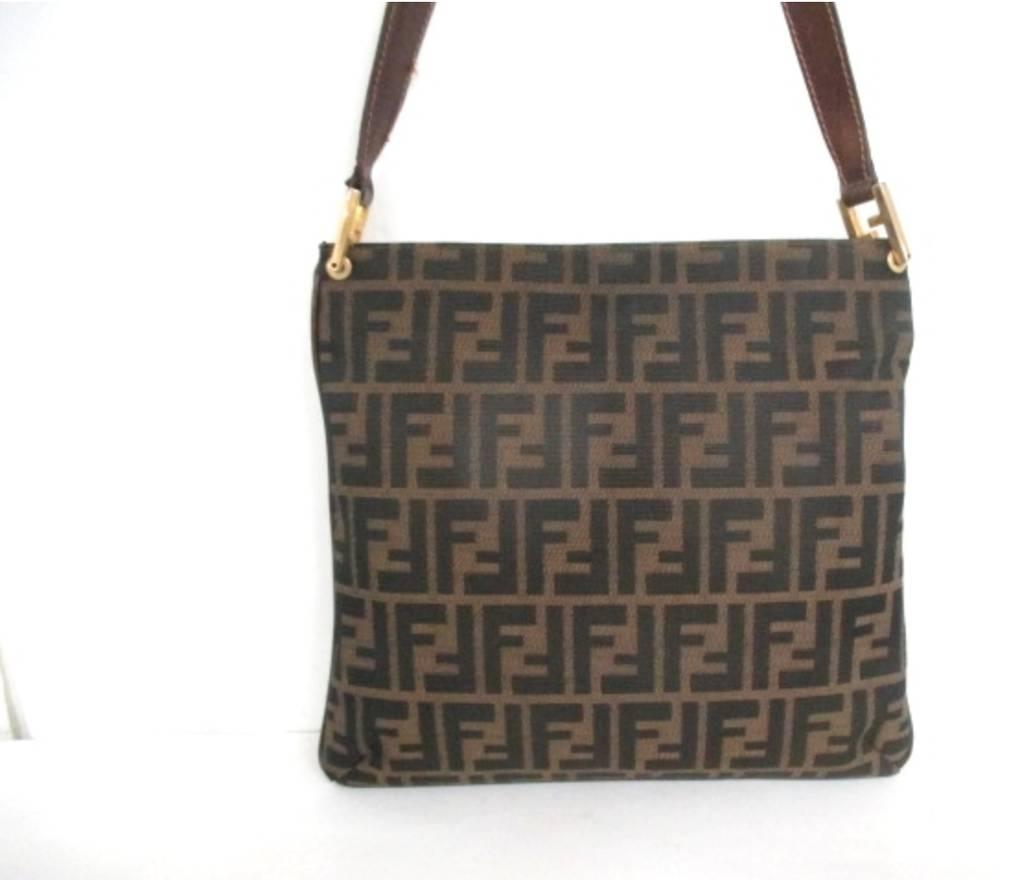 831aeaf6d335 ... promo code for fendi fendi monogram zucca shoulder side bag size one  size 5137c 50f35