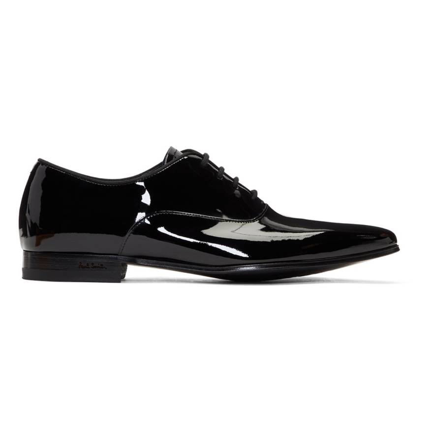 Black Patent Fleming Oxfords Paul Smith