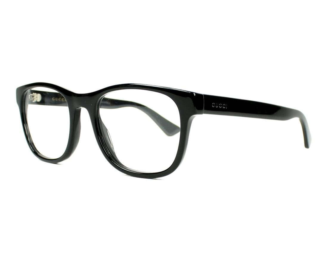 Gucci NEW Gucci 0004O Black Oversized Eyeglasses Frames Size one ...