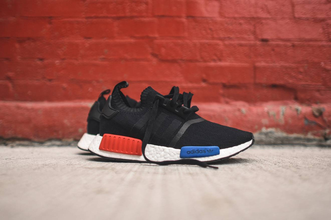 Adidas NMD R1 Triple Red Solar Red Color Pack S31507 Sz 8