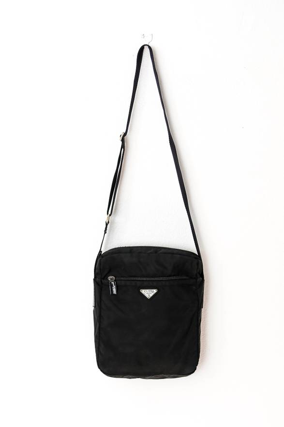 c0c78bbe6277 where can i buy prada big vela nylon shoulder bag size one size c9ccd 6e2d6