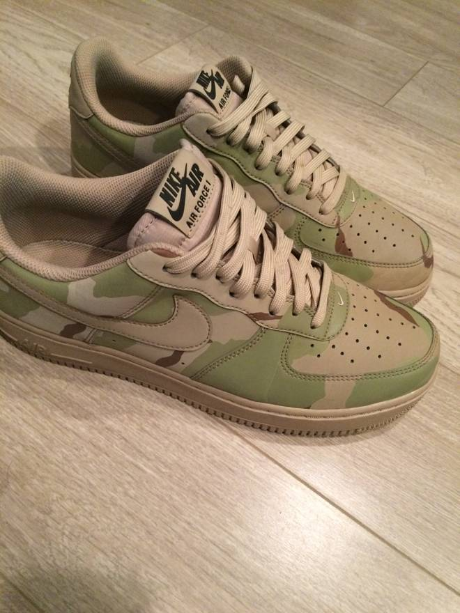 buy online d5ab1 81981 ... Nike Air force 1 Desert camo 3m reflective Size US 10 EU 43 .
