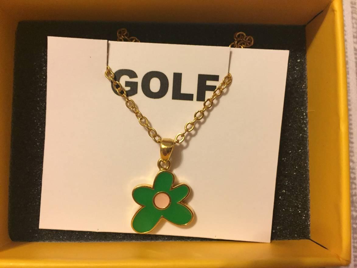 Golf wang golf le fleur necklace size one size jewelry golf wang golf le fleur necklace size one size 1 aloadofball Images