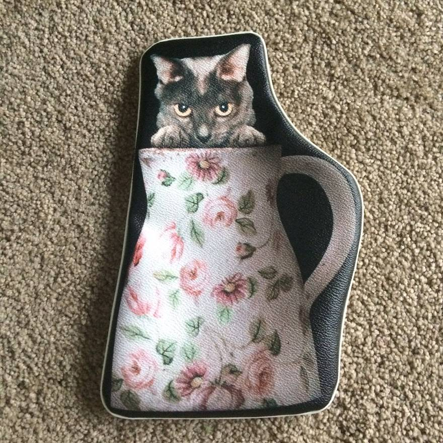 Undercover Aw16 Cat In Vase Pouch Size One Size Bags Luggage For