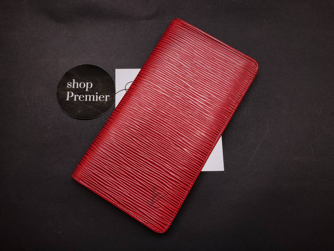 Louis Vuitton [CHRISTMAS DAY SPECIAL PRICE] Louis Vuitton Porte-Chequier Long Wallet in ...