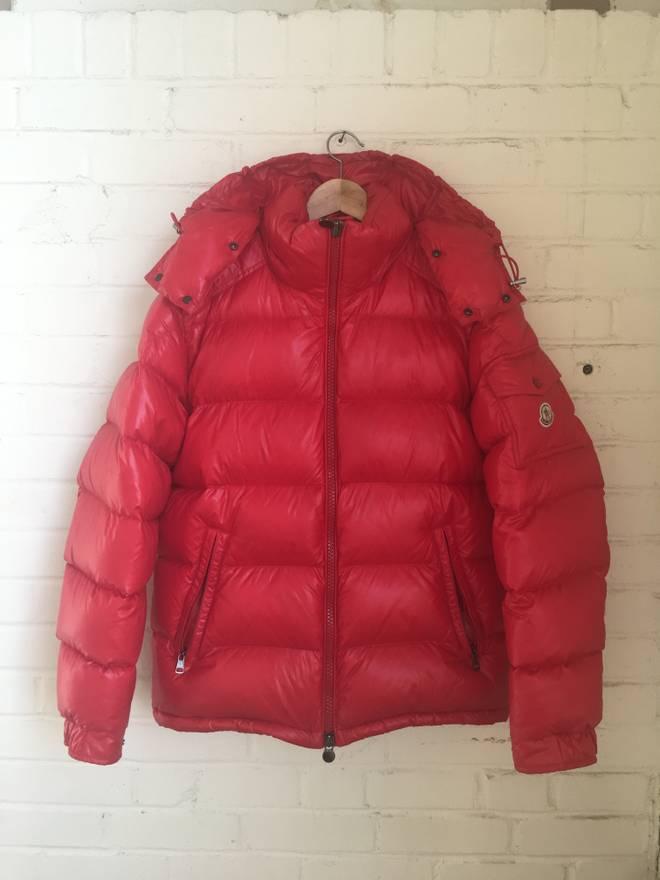 2dde6548c0fc coupon for moncler red maya jacket e52e1 e3f9b
