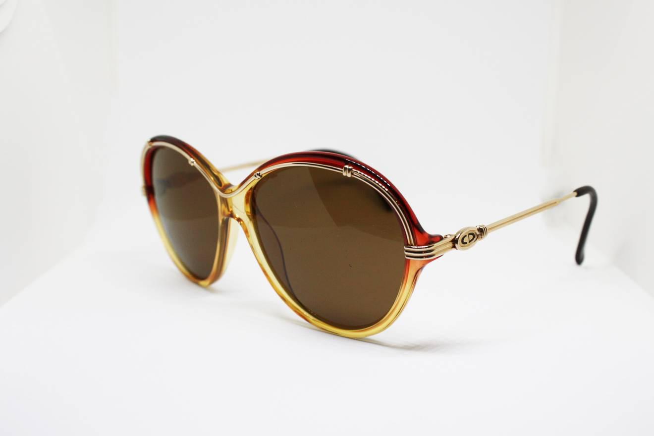 Dior Authentic Christian Dior oversize vintage 70s eyeglasses frames ...