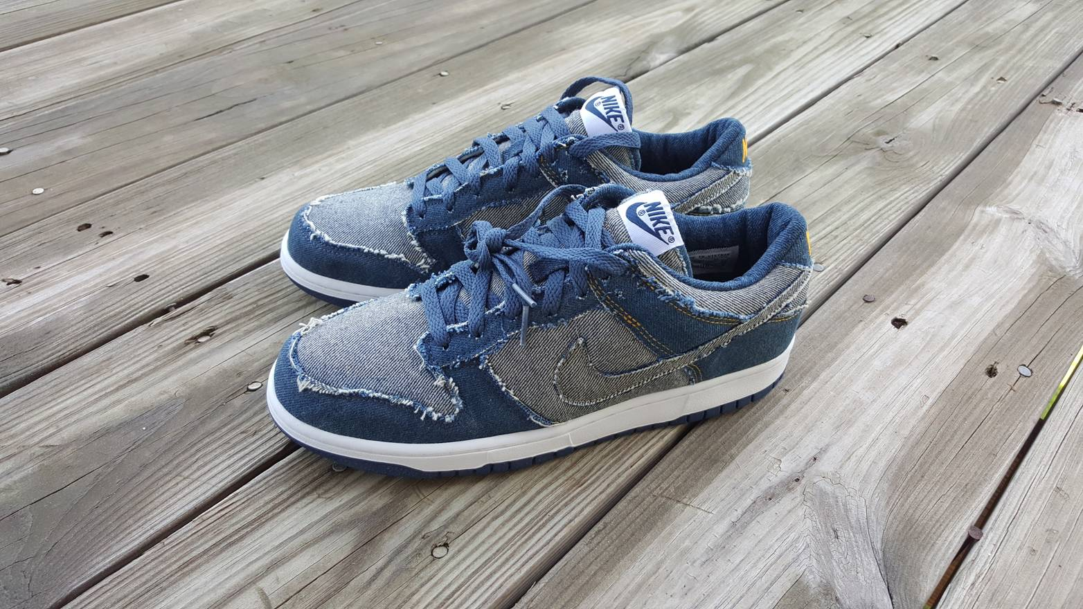 reputable site 83f00 b3a8d ... italy nike 2006 nike dunk low cl denim size us 94a06 3b0df
