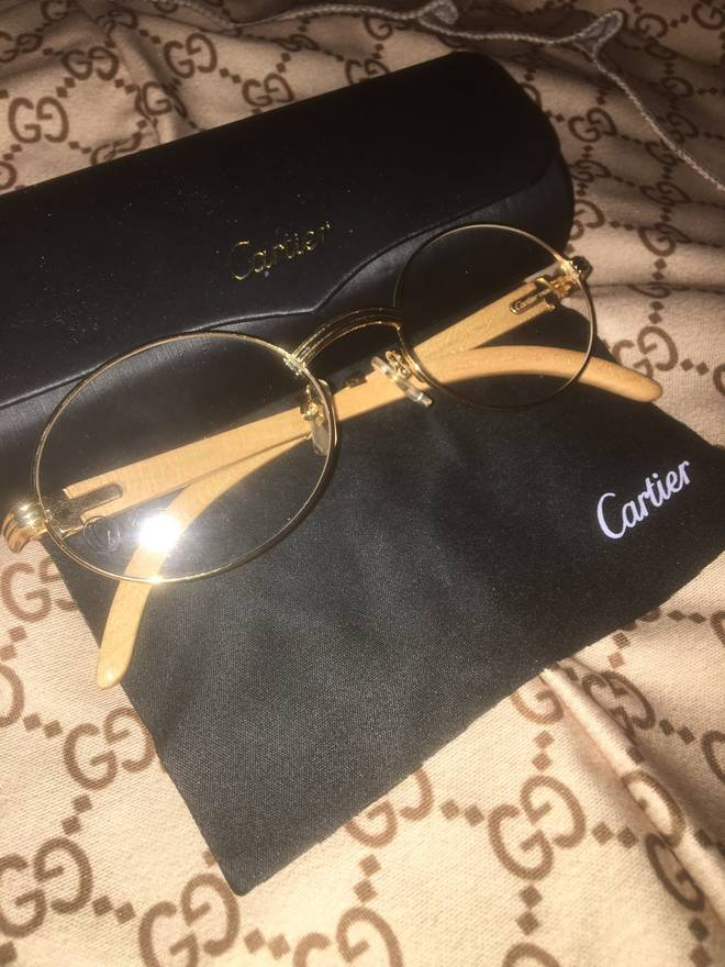 Cartier CARTIER 70\'S VINTAGE OVAL FRAMES Size one size - Glasses for ...