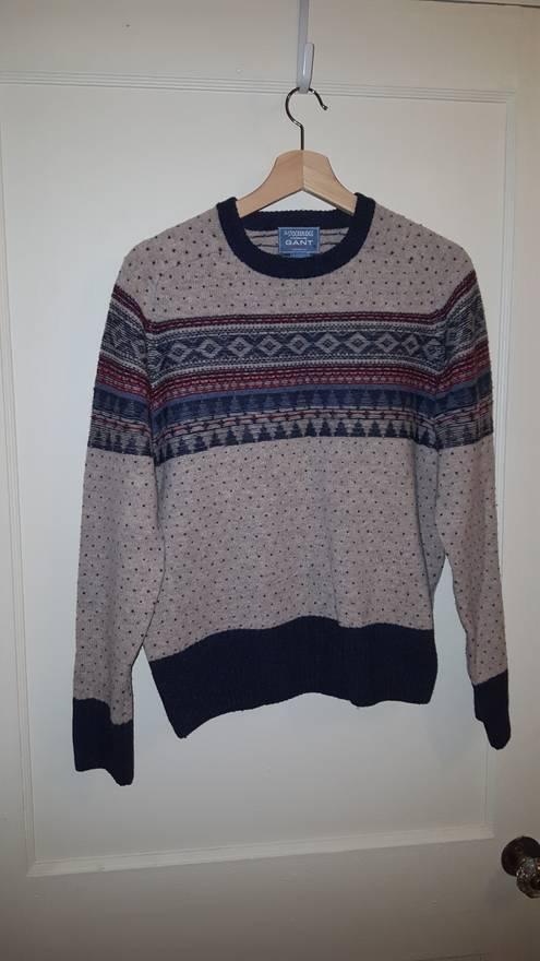 Gant Fair Isle Wool Sweater Size m - Sweaters & Knitwear for Sale ...