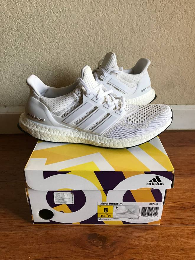 cb402323f18 ... where to buy adidas ultra boost v1 triple white s77416 size us 8 eu 41  682e1