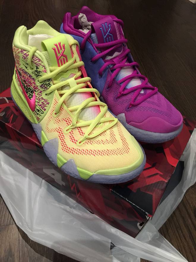91ca35267dc ... aliexpress nike kyrie 4 confetti sz8 ds size us 8 eu 41 586dd f177e  norway nike kyrie 4. release date june 1st 2018 100. color lt atomic pink  ...