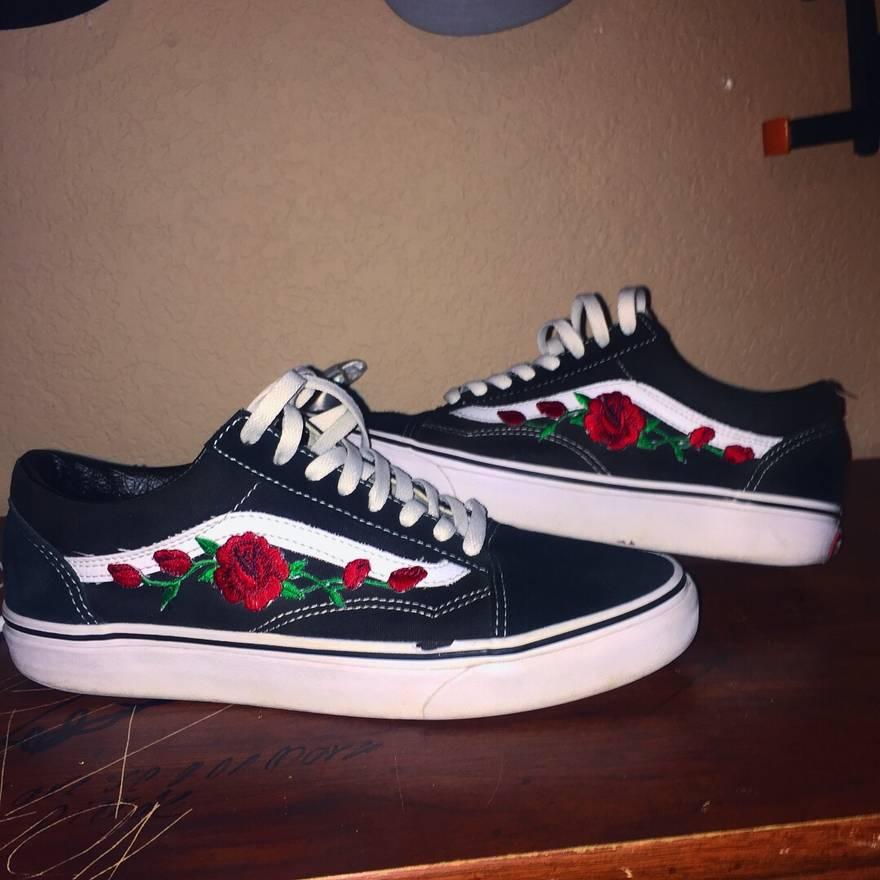 Vans Vans Old Skool Low Custom Size 8 - Low-Top Sneakers for Sale ...