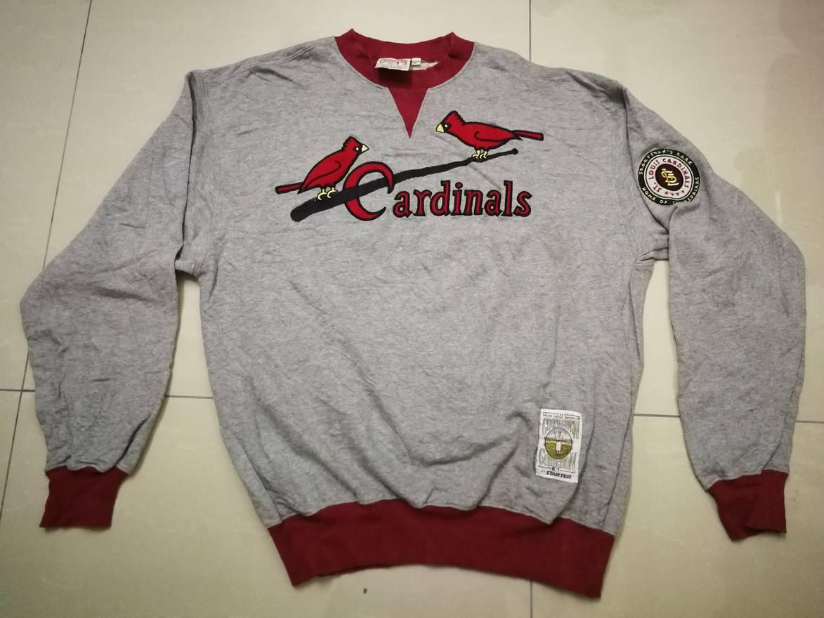 Vintage Vtg St Louis Cardinals Starter Embroidery Copperstown
