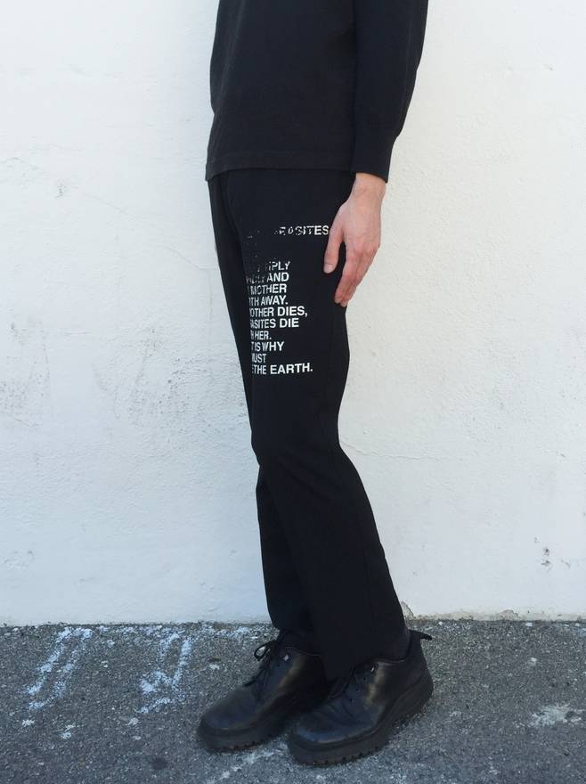 TROUSERS - Casual trousers Poems