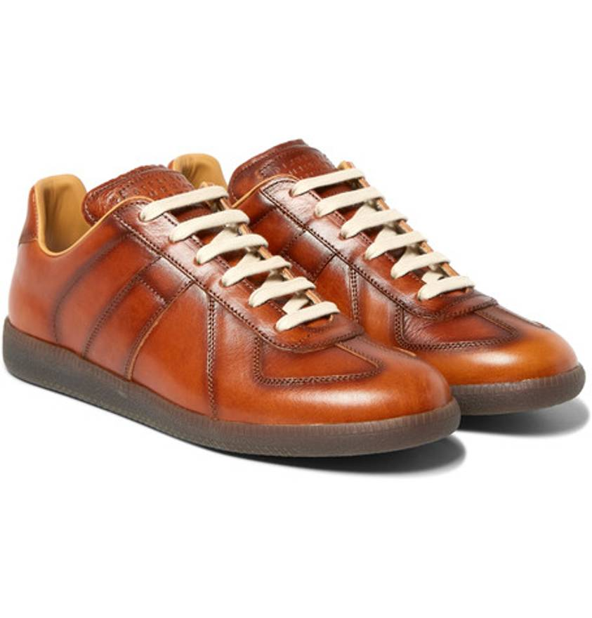 Maison Margiela burnished Replica sneakers