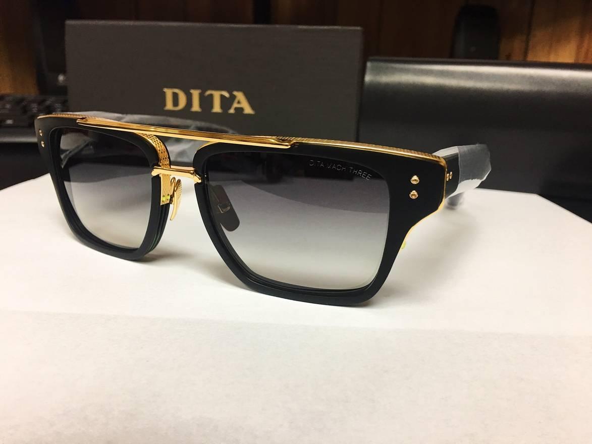 f9dbb505634 Dita DITA Mach Three 18K Gold Size one size - Sunglasses for Sale .