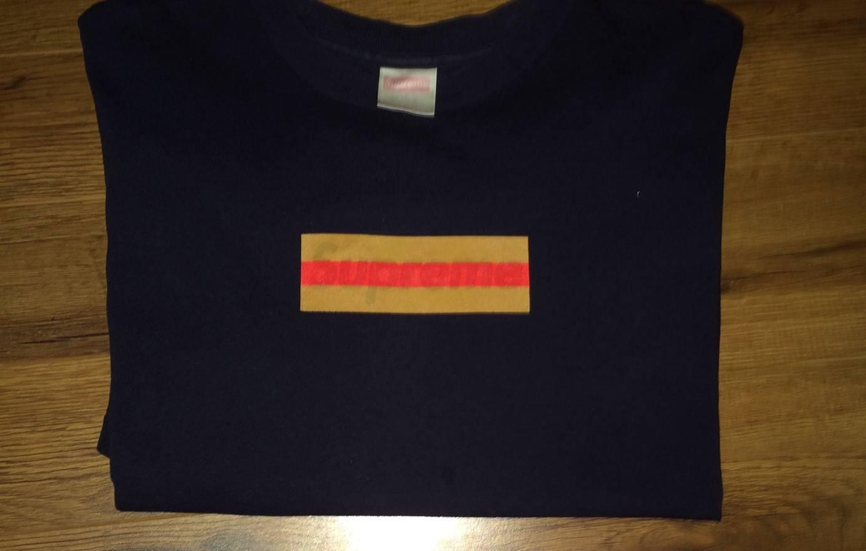 supreme supreme gucci box logo tee size m short sleeve t shirts
