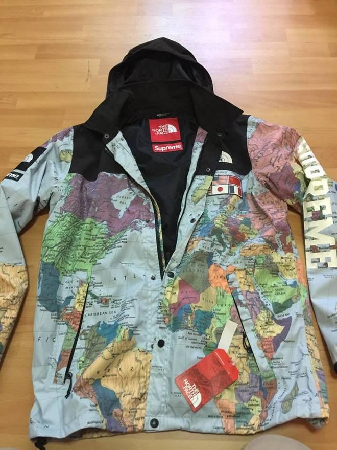 Supreme tnf map jacket size m light jackets for sale grailed supreme tnf map jacket size us m eu 48 50 2 gumiabroncs Gallery